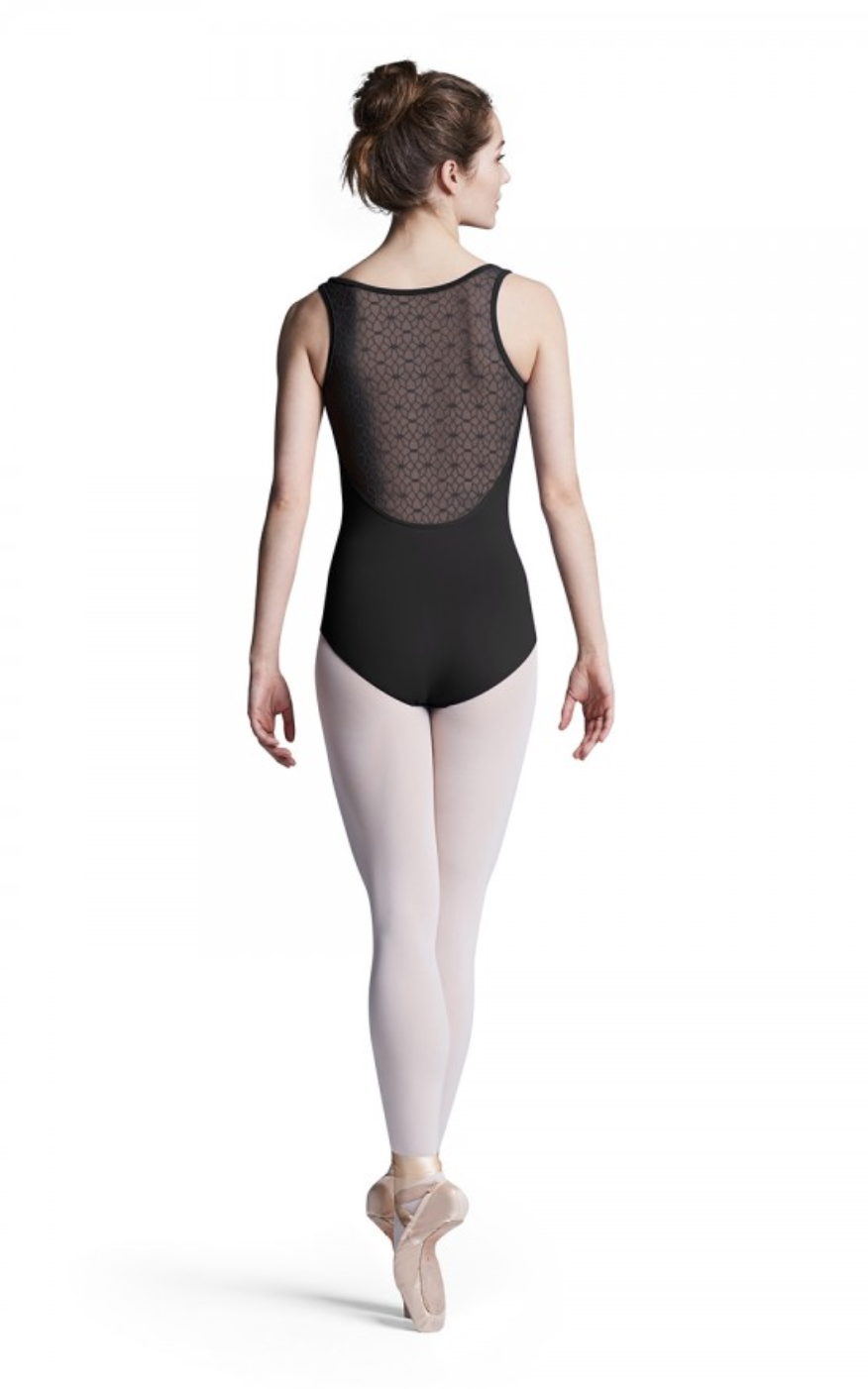 Bloch Mesh Back Tank Leotard - L8885