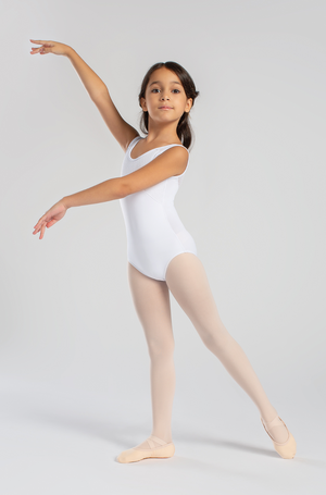 So Danca Girls Tank Leotard with Mesh Back - L1661