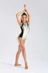 So Danca Girls Print Tank Leotard - L1669