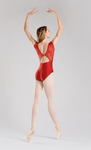 So Danca Chandelle Tank Leotard with Mesh Insert - RDE1841