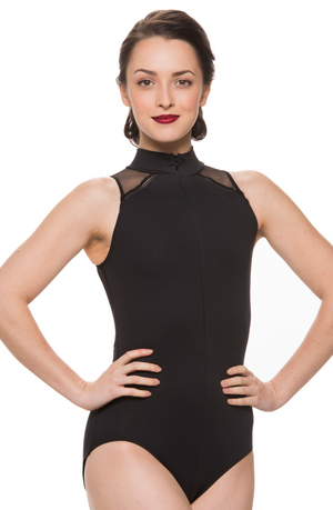 Ainsliewear Bryn Leotard with Mesh - 1065ME