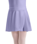 Motionwear Crepe Pull-on Wrap Skirt - Assorted Colors - 1011