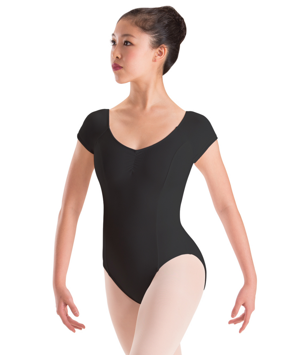 Motionwear Raglan Cap Sleeve Leotard - 2149