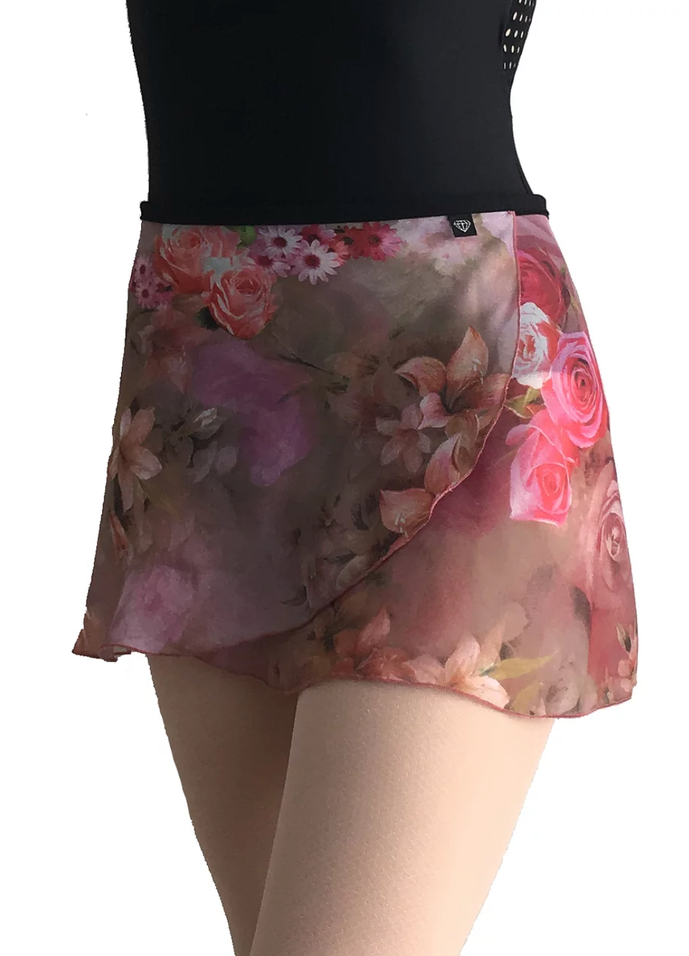 Jule Dancewear Wrap Skirt - All Day Rose