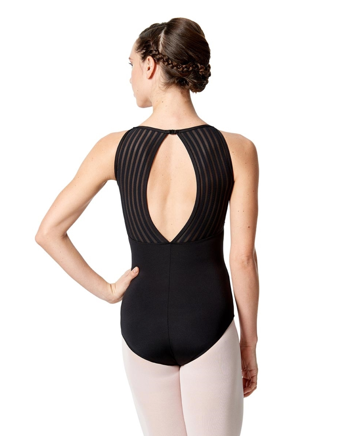 Lulli Dancewear High Neck Tank Leotard - LUF528