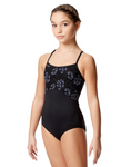 Lulli Dancewear Girls Lace Accent Camisole Leotard - LUF587C