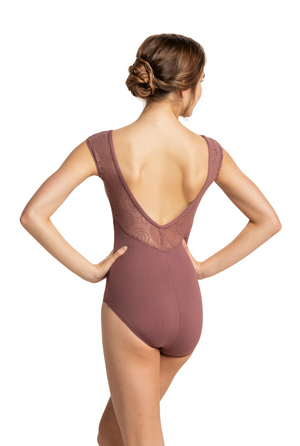 Ainsliewear Elodie Leotard with Lola Lace - 166LL