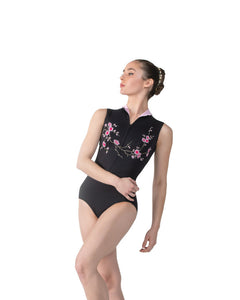 Ballet Rosa High Neck Leotard - Ciaravola