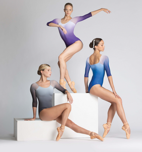 Ballet Rosa Ayala Long Sleeve Ombre Leotard