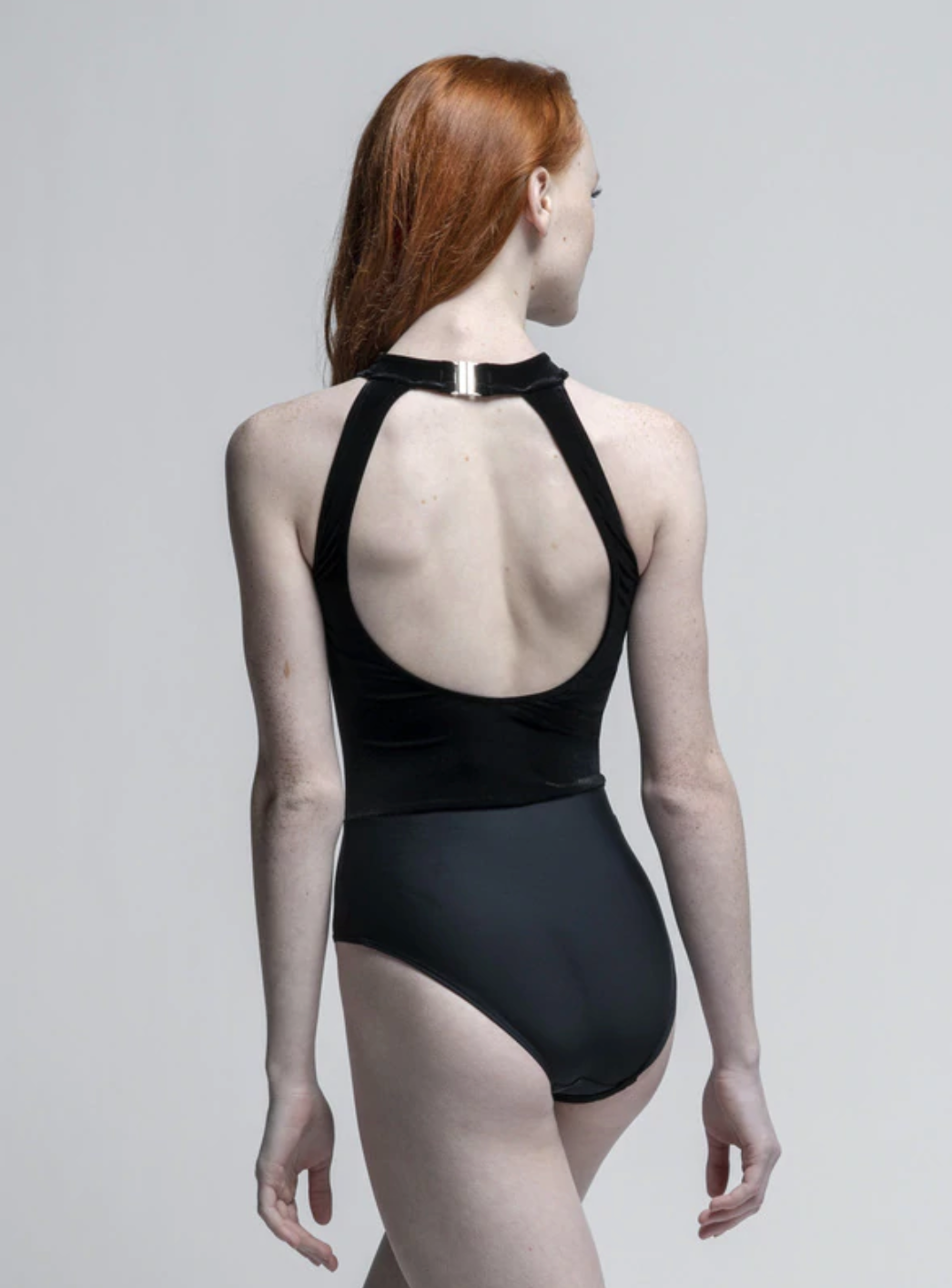 Eleve Dancewear Elysa Black Leotard