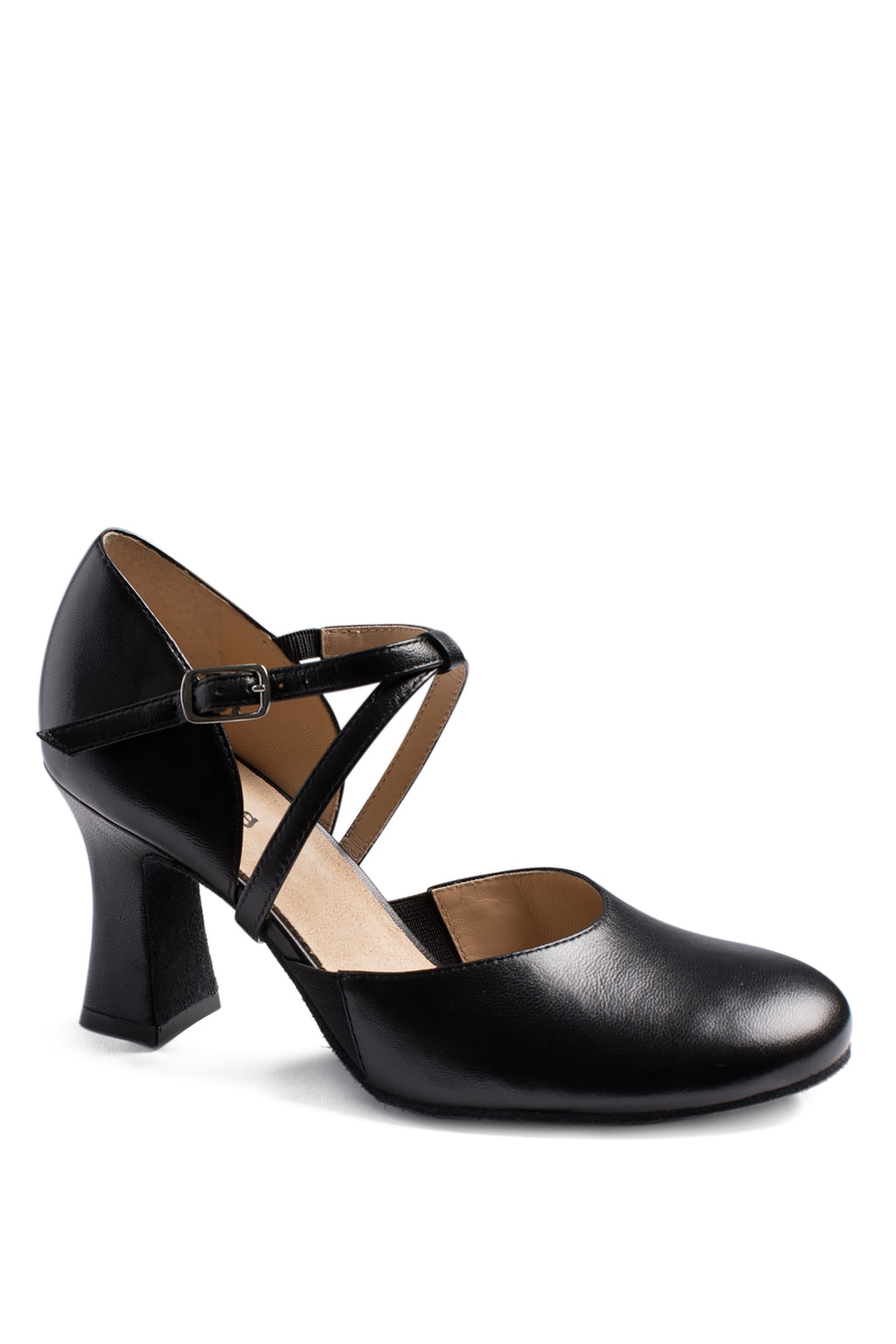 "So Danca Leather Character Shoe with 2.5"" Heel - SD142"