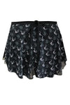 Audition Dancewear Swan Print Wrap Skirt