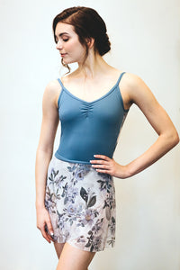 Ainsliewear Vintage Botanical Mesh Wrap Skirt - Super Exclusive