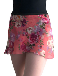 Jule Dancewear Coral Rose Wrap Skirt - WS163
