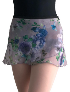 Jule Dancewear Flowers a Flutter Wrap Skirt - WS169