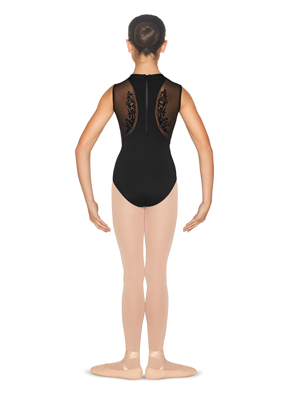 Bloch Girls High Neck Tank Leotard - CL5575