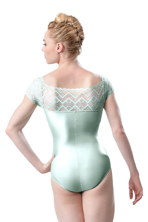 So Danca Lace Cap Sleeve Leotard - RDE1905