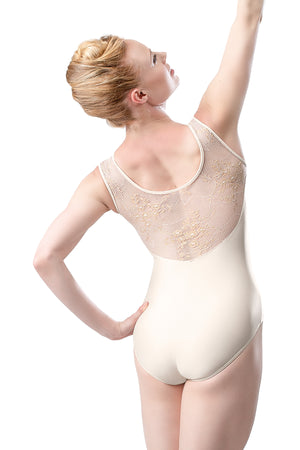 So Danca Mesh Lace Tank Leotard - RDE1907