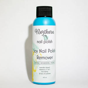 Natural Soy Based Nail Polish Remover