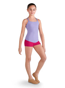 Bloch Side Panel Girls Shorts - FR5073C