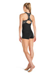 Bloch Zip-front Racer Back Top - FT5050