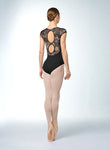 Bloch Bow Back Cap Sleeve Leotard - L9892