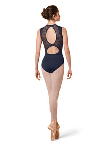 Mirella Open Back Tank Leotard - M3066LM