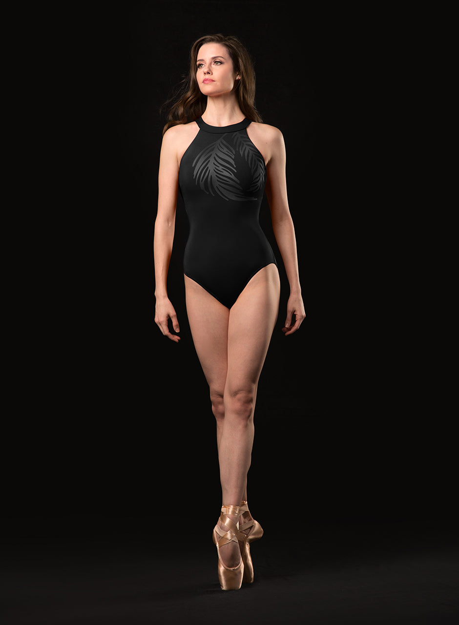 Mirella High Neck Halter Leotard - MJ7218