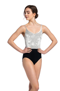 Ainsliewear Liberty Leotard with Crushed Velvet - 1078CV