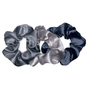 Satin 3-Pack Scrunchie Sets, by Banded
