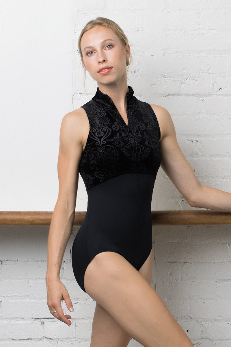 Ainsliewear Super Exclusive Haley Leotard with Royal Velvet - 1064RV
