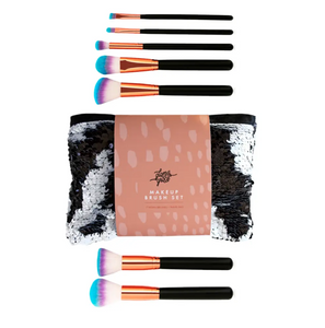 Color Pop Makeup Brush Set