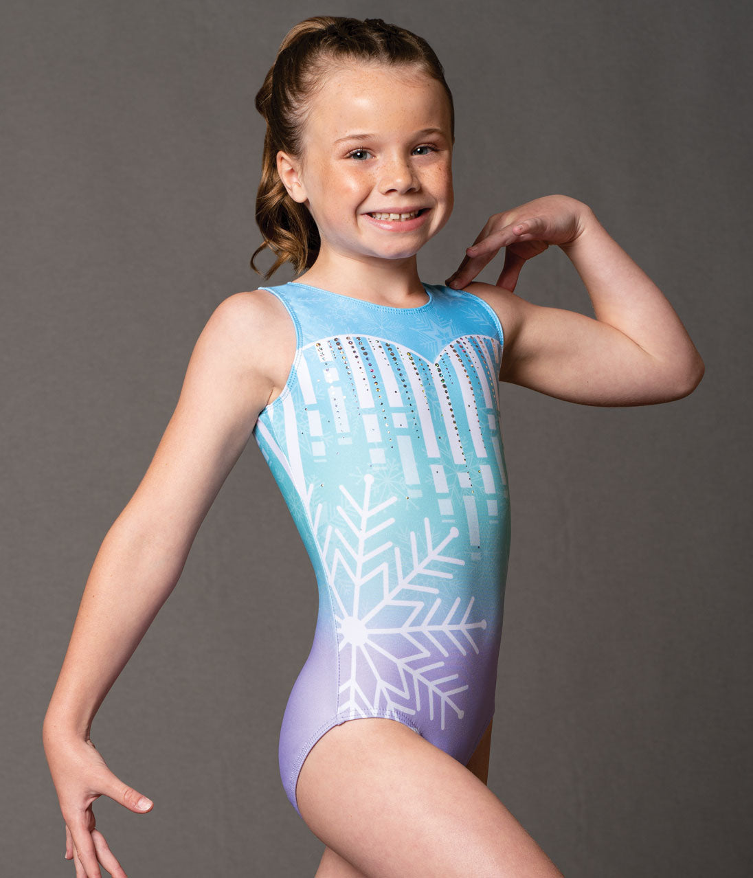 Motionwear Girls Gymnastics Leotard - 1722