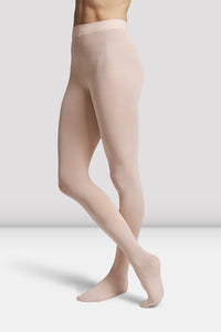 Bloch Girls Contoursoft Footed Tights - T0981G