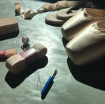 Pointe Shoe Sewing Lesson and Supplies
