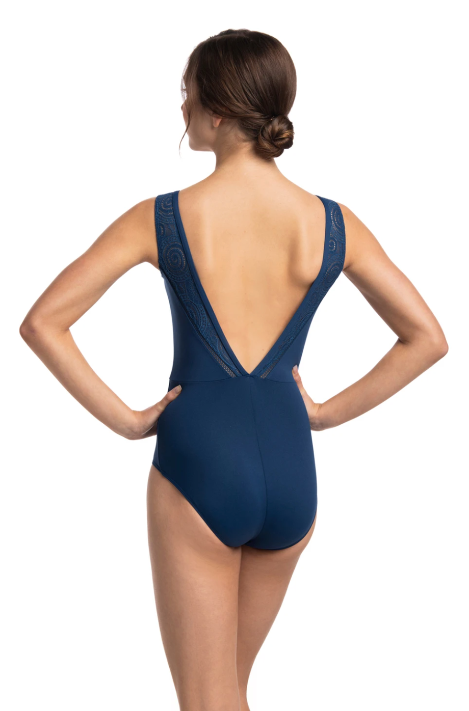 Ainsliewear Kimberley Leotard with Lola Lace - 1060LL