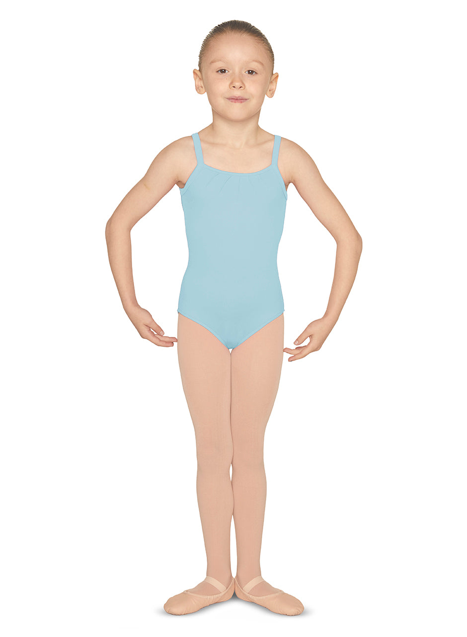 Mirella Girls Mesh Back Camisole Leotard - M1223C