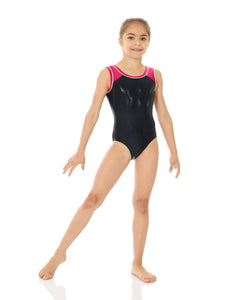 Mondor Metallic Tank Gymnastics Leotard - 7891