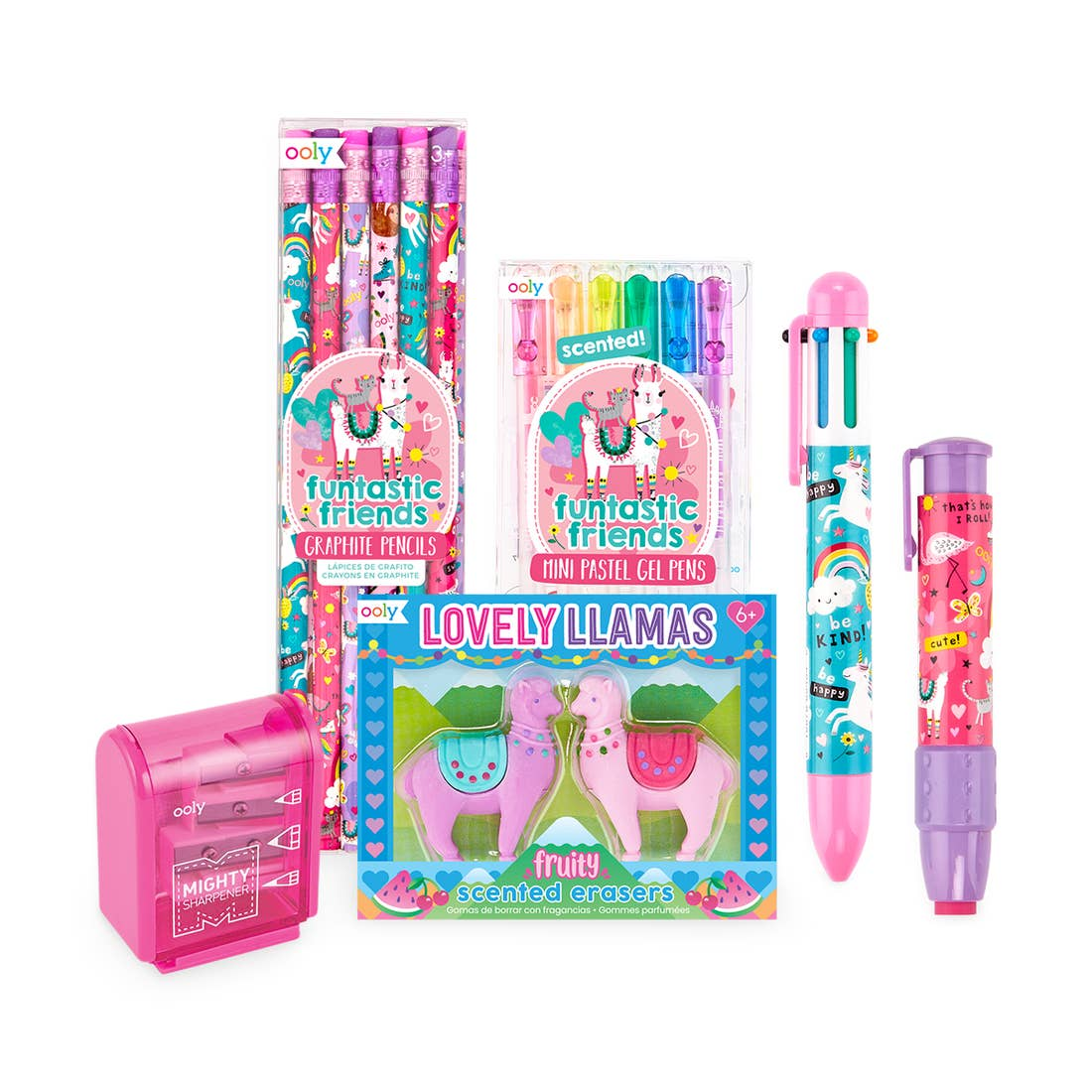 Stationary Happy Packs - Assorted Colorful Sets