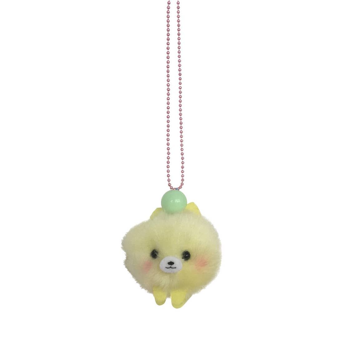 Pop Cuties Pom Pom Puppy Necklace