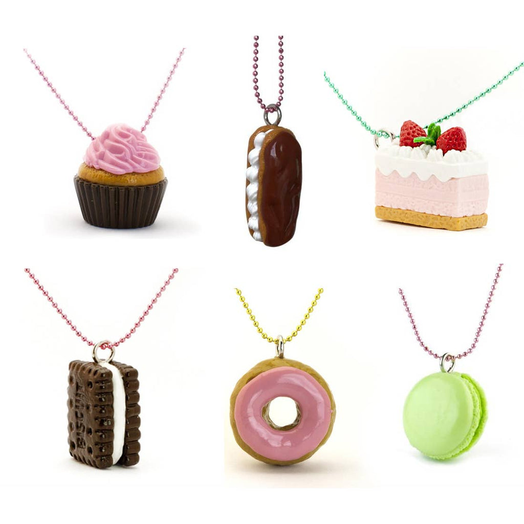 Pop Cutie and Iwako Necklaces