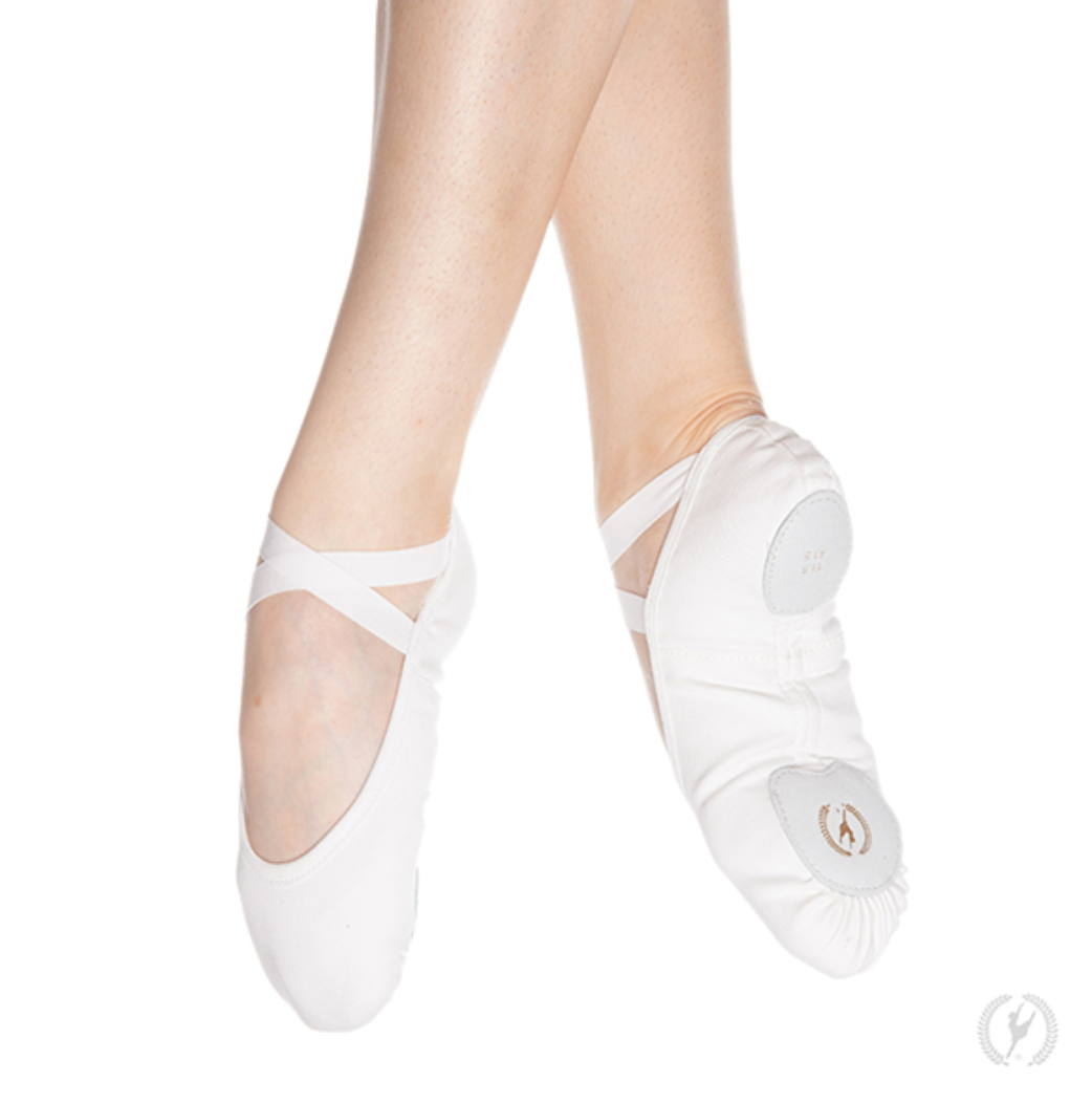 Eurotard Child Assemblé Split Sole Canvas Ballet Shoes - 1004c