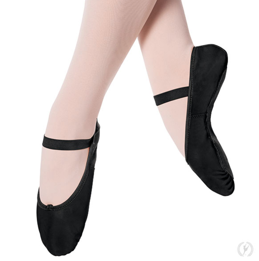 Eurotard Adult Full-Sole Leather Ballet Slippers - A2001a