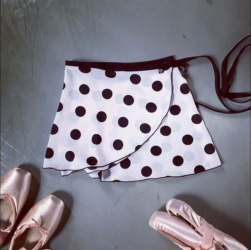 Jule Dancewear Big Dot Wrap Skirt