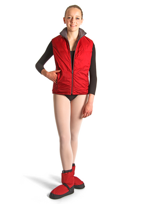 Bloch Reversible Warm Up Vest - IM402
