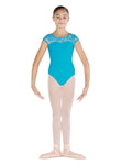 Bloch Bow Back Cap Sleeve Leotard - CL4832