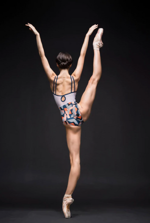 Eleve Dancewear Noelle Modern Geometry Leotard