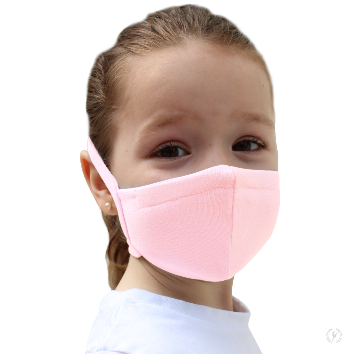 Child size cotton cloth face masks and face coverings