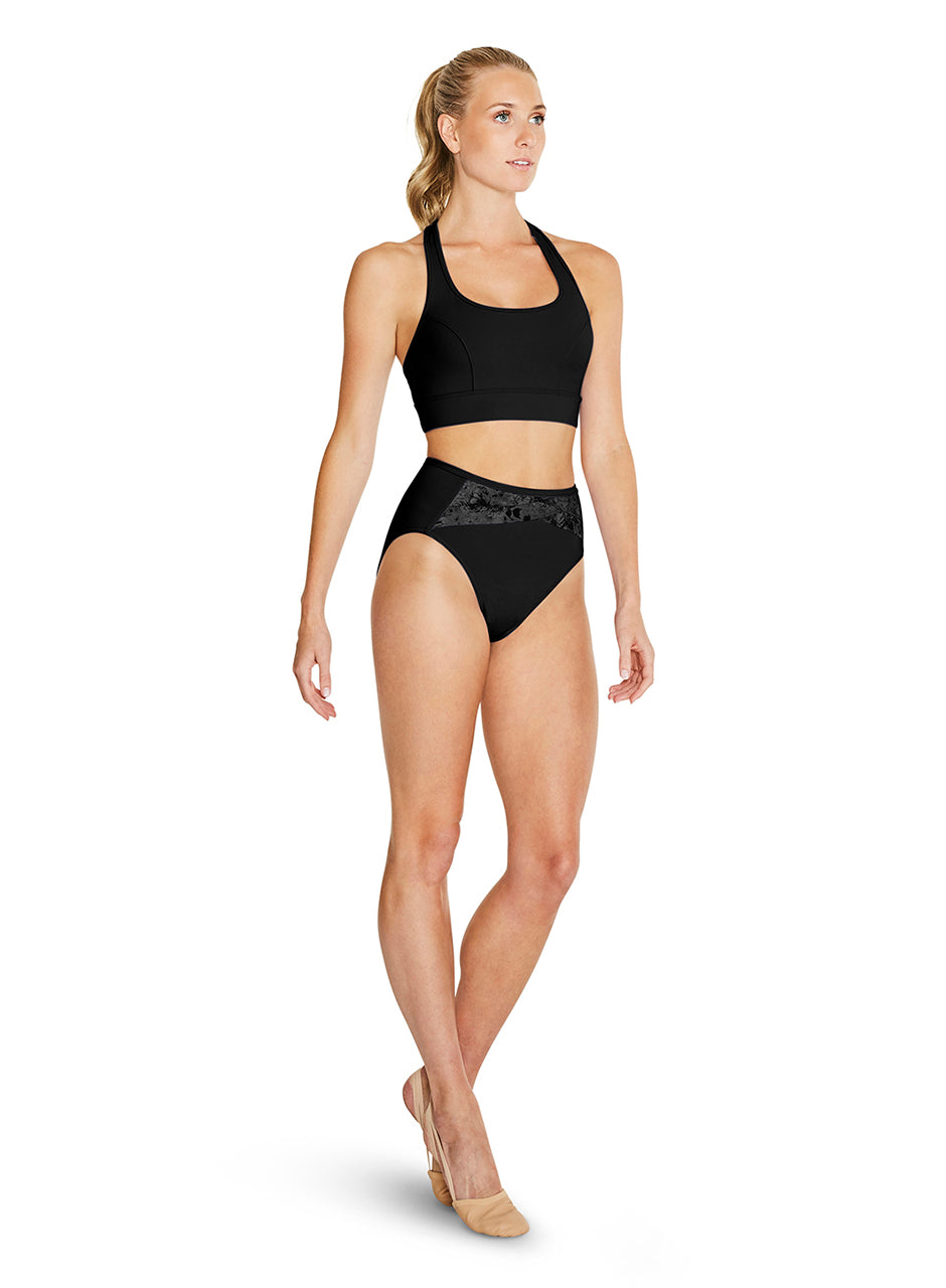 Bloch Racer Back Crop Top - FT5092