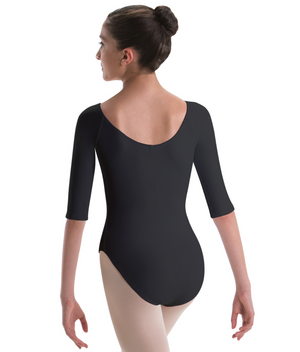 Motionwear Raglan 3/4 Sleeve Leotard - 2150